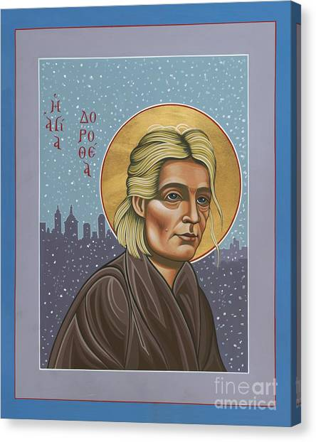 Holy Prophet Dorothy Day 154 Canvas Print