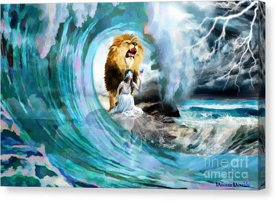Holy Roar Canvas Print