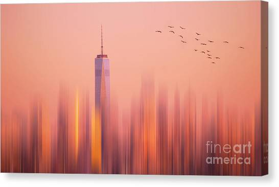 Towards Freedom Canvas Print