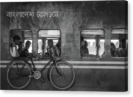 Street Canvas Print - Home Bound by Sifat Hossain
