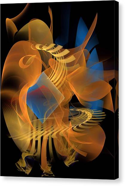 Bachelorette Canvas Print - Home-decore-2-a-leftbb by Bill Campitelle