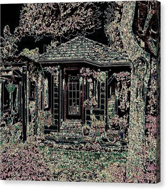 Home Entrance Canvas Print
