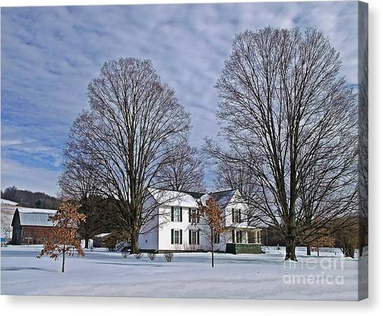 Home For The Holidays Canvas Print