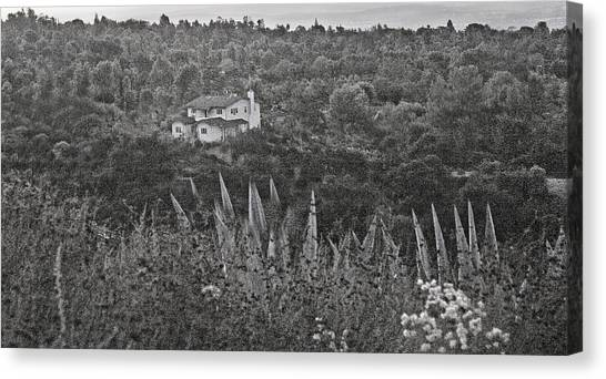 Home In The Hills Canvas Print