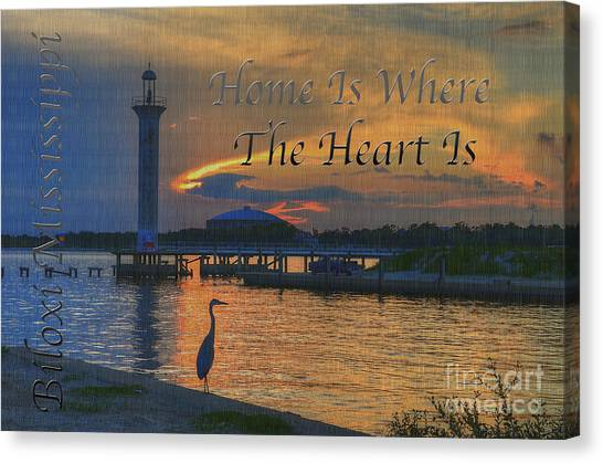 Home Is Where The Heart Is Canvas Print