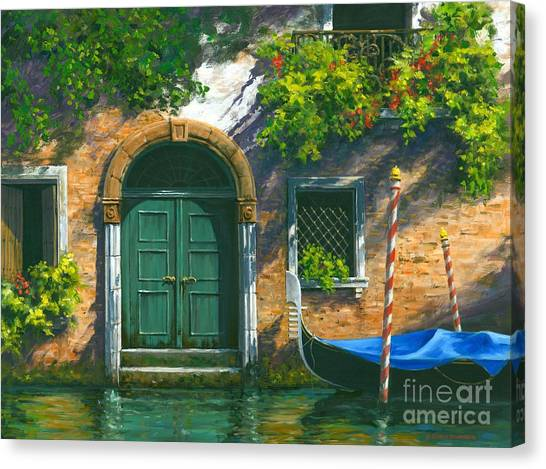 Artist Michael Swanson Canvas Print - Home Is Where The Heart Is by Michael Swanson