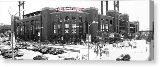Home Of The Cardinals Canvas Print