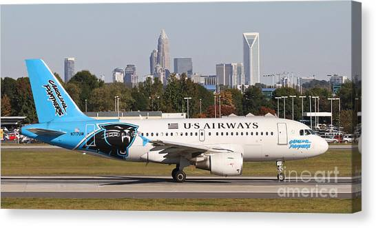 Home Of The Panthers Canvas Print