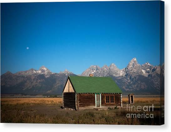 Home On The Range Canvas Print