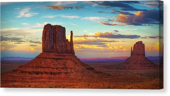 Home On The Range Canvas Print