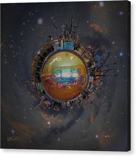 Home Planet Canvas Print