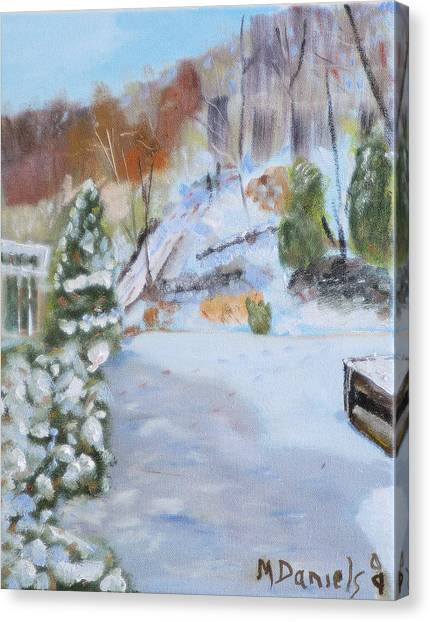 Home Scene South Canvas Print