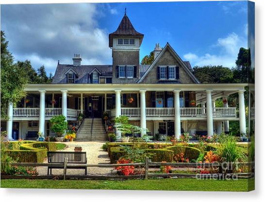 Canvas Print featuring the photograph Home Sweet Home by Mel Steinhauer