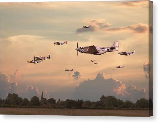 Luftwaffe Canvas Print - Home To Roost by Pat Speirs