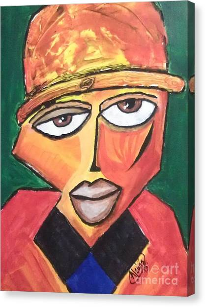 Homeboy Canvas Print by Anthony Lewis
