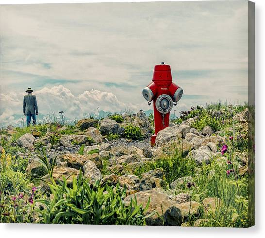 Switzerland Canvas Print - Homesick by Ambra
