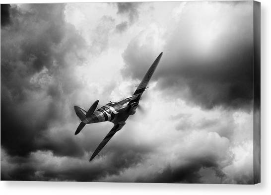 Royal Marines Canvas Print - Homeward Bound by Peter Chilelli