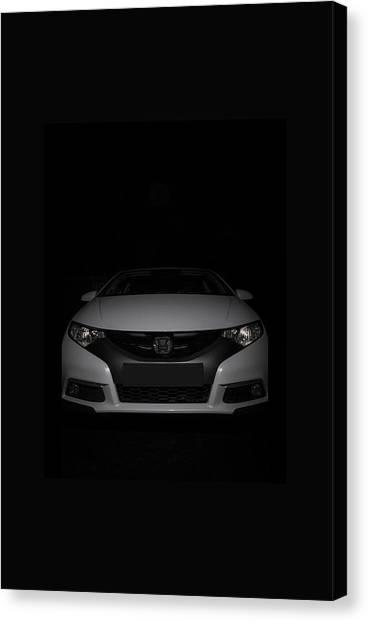Honda Civic Canvas Print