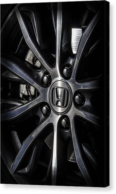 Honda Wheel Canvas Print