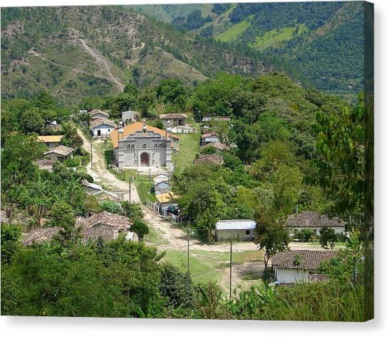 Honduras Mountain Village Canvas Print