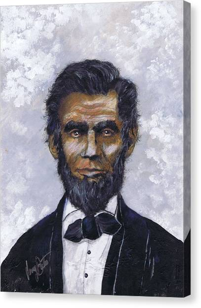 Honest Abe Canvas Print
