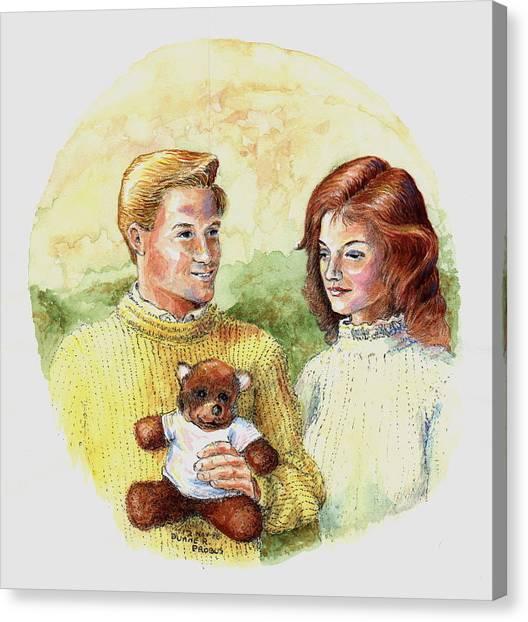 Honey Bear Canvas Print