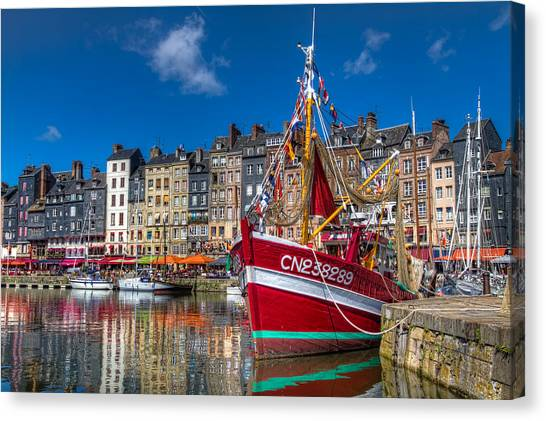 Honfleur Normandy Canvas Print