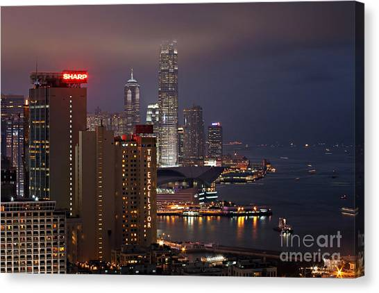 Hong Kong Canvas Print - Hong Kong by Lars Ruecker