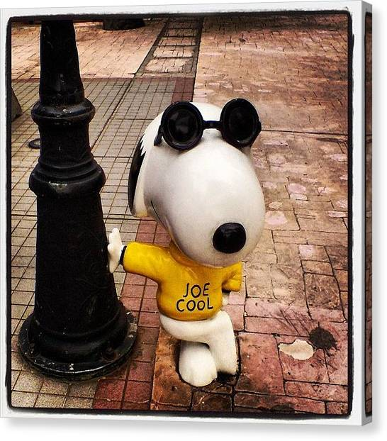 Hong Kong Canvas Print - Snoopy by Clare Hardy