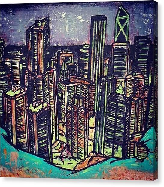 Hong Kong Canvas Print - #hongkong by Matthew Martnick