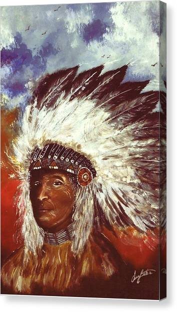 Honorable Chief Canvas Print