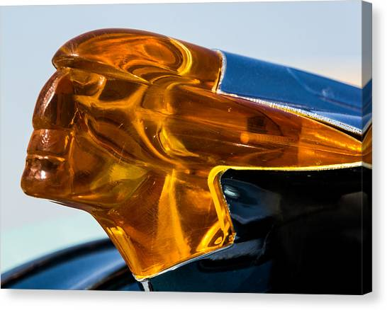 Hood Ornament  Canvas Print