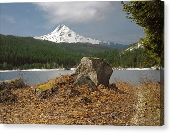 Hood Rock Canvas Print