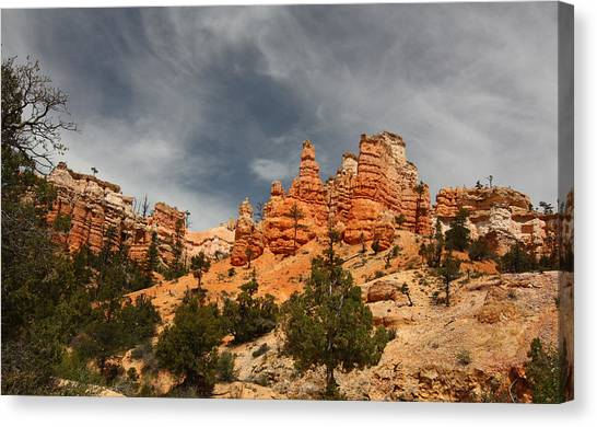 Hoodoos At Mossey Creek Trail Canvas Print