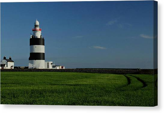 Hook Head Lighthouse Canvas Print by Peter Skelton