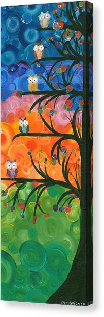 Hoolandia Family Tree 01 Canvas Print