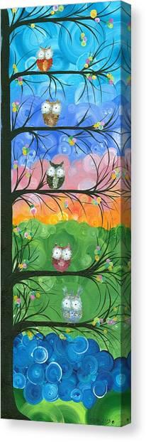 Hoolandia Family Tree 02 Canvas Print