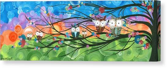 Hoolandia Family Tree 04 Canvas Print
