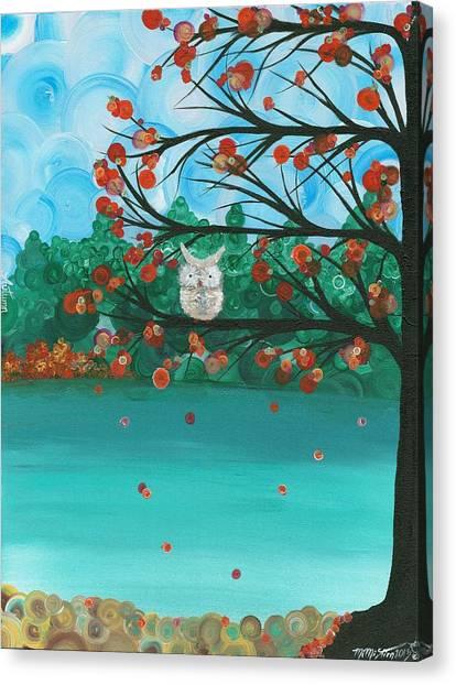 Hoolandia Seasons - Autumn Canvas Print