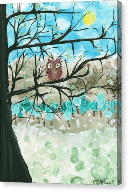 Hoolandia Seasons - Winter Canvas Print