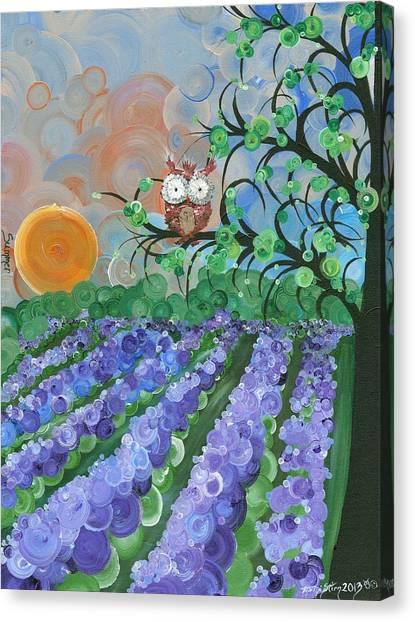 Hoolandia Seasons Summer Canvas Print