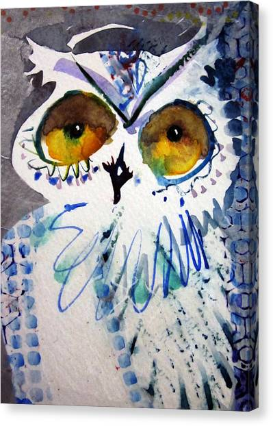 Hoot Uncropped Canvas Print