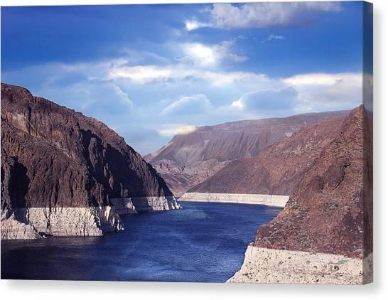 Hoover Dam Canvas Print by Yosi Cupano