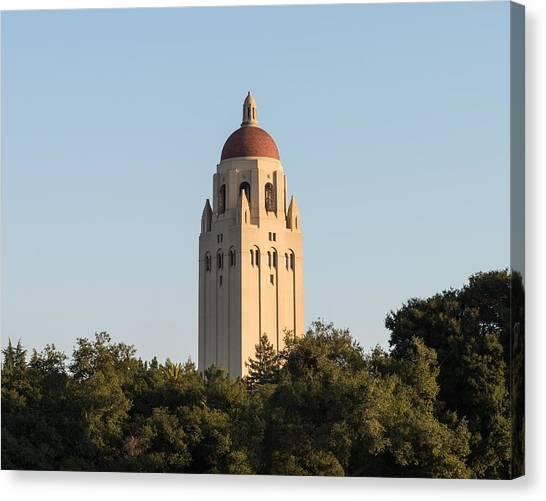 Junior College Canvas Print - Hoover Tower Stanford University by Priya Ghose