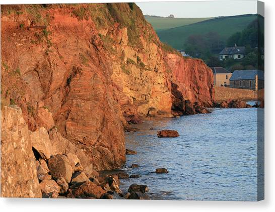 Hope Cove Canvas Print