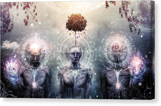 Visionary Art Canvas Print - Hope For The Sound Awakening by Cameron Gray