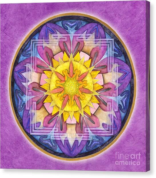 Hope Mandala Canvas Print