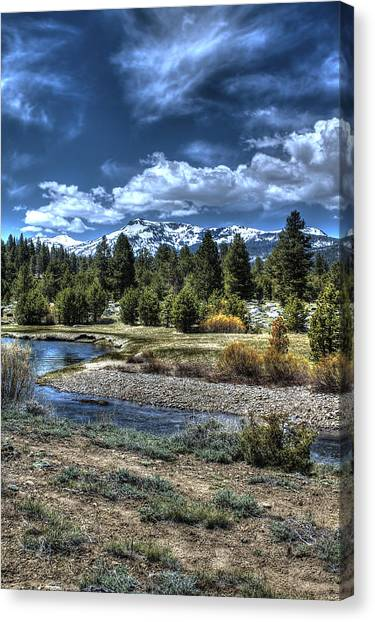 Hope Valley Wildlife Area 2 Canvas Print