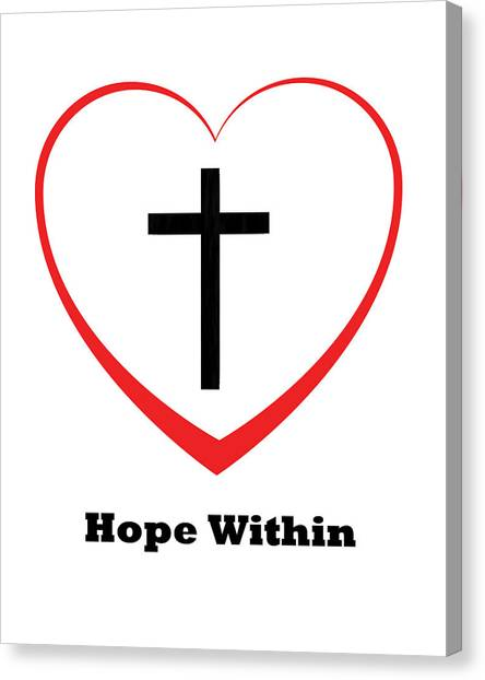 Hope Within Canvas Print by Stephanie Grooms