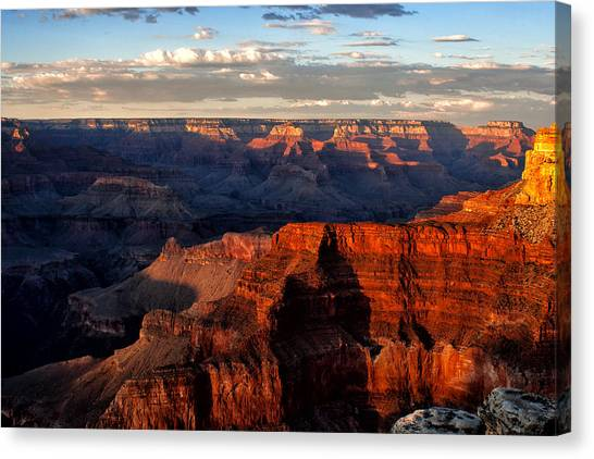 Hopi Point Sunset Canvas Print